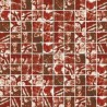 Mozaika szklana Złoto-Brąz Skałka 30 x 30 kostka 2,8 cm