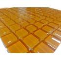 Mozaika szklana Pomarańcz 30 x 30 kostka 2,3 cm