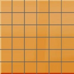 Mozaika szklana Pomarańcz 30 x 30 kostka 4,8 cm