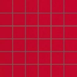 Mozaika szklana Red 30 x 30 kostka 4,8 cm
