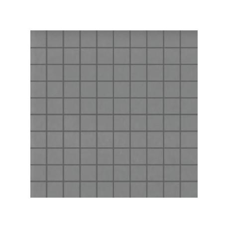 Mozaika szklana Szara 30 x 30 kostka 2,8 cm