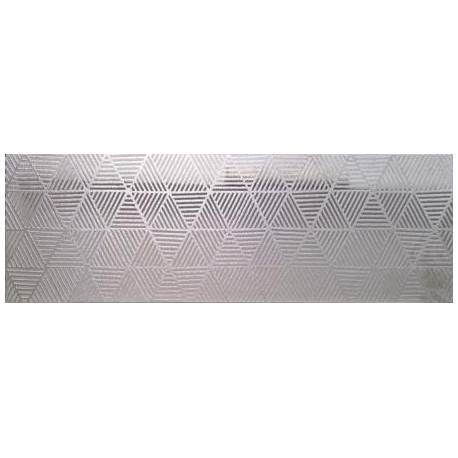 Płytka ceramiczna srebrna MTL SILVER GLORIA INSERTO 30x90