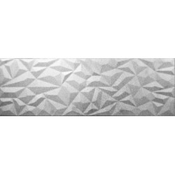 Płytka ceramiczna srebrna MTL SILVER MAGIC STRUCTURE 30x90