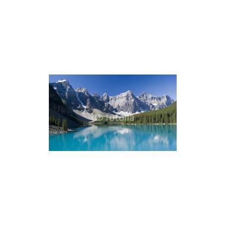 Panele szklane Lake Moraine in Banff National Park