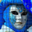 Mozaika szklana Maska Wenecka 2