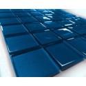 Mozaika szklana Niebieska 30 x 30 kostka 4,8 cm