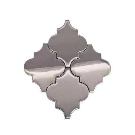 Arabeska Silver Metalik 27,4 x 32,4