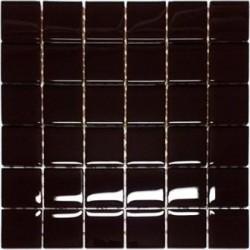 Mozaika szklana czekolada 30x30 Kostka 4,8 cm
