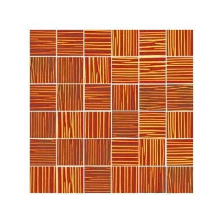 Mozaika szklana Bursztyn Paski 30 x 30 kostka 4,8 cm
