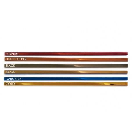 Listwa Metalowa Ozdobna Kolor 10x2440