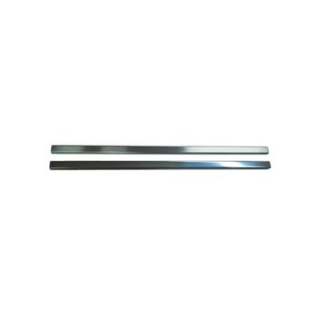 Listwa Metalowa Ozdobna Srebrna 20x900
