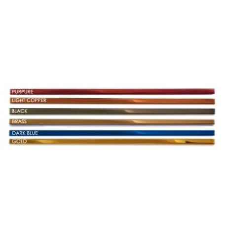 Listwa Metalowa Ozdobna Srebrna 20x600