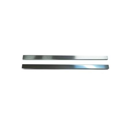 Listwa Metalowa Ozdobna Srebrna 30x600