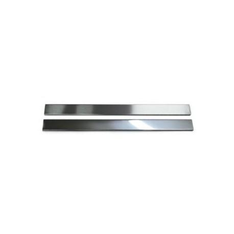 Listwa Metalowa Ozdobna Srebrna 48x600