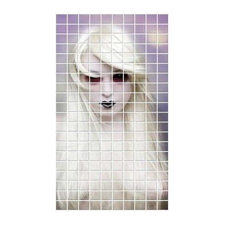 Mozaika szklana Twarz 8