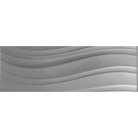 Prestige glass dekor srebro 2W 30x90