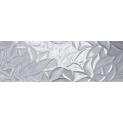 Prestige glass dekor srebro 2L 30x90