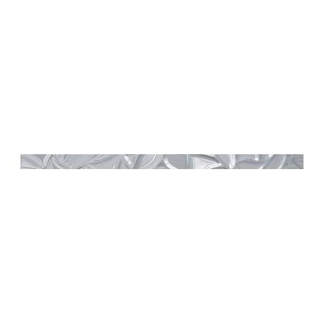 Prestige glass listwa srebro 2L 4,8x90