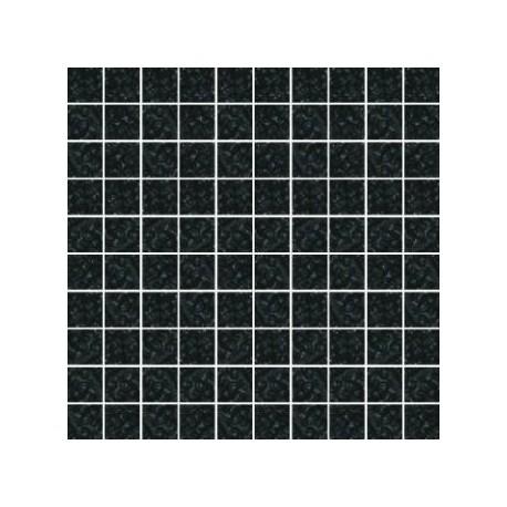 Mozaika szklana Czarny Marmurek 30 x 30 kostka 2,8 cm