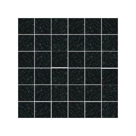 Mozaika szklana Czarny Marmurek 30 x 30 kostka 4,8 cm