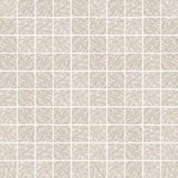 Mozaika szklana Biały Marmurek 30 x 30 kostka 2,8 cm