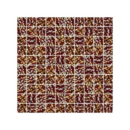 Mozaika szklana Złoto-Brąz Marmurek 30 x 30 kostka 2,8 cm