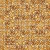 Mozaika szklana Złoty-Bursztyn Marmurek 30 x 30 kostka 2,8 cm