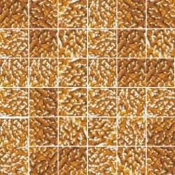 Mozaika szklana Złoty-Bursztyn Marmurek 30 x 30 kostka 4,8 cm