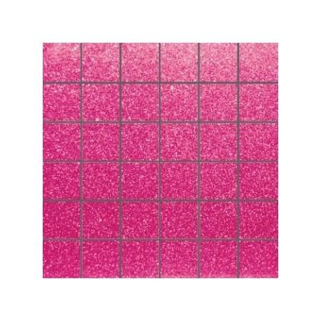 Mozaika szklana Brokat Róż 30x30 kostka 4,8cm