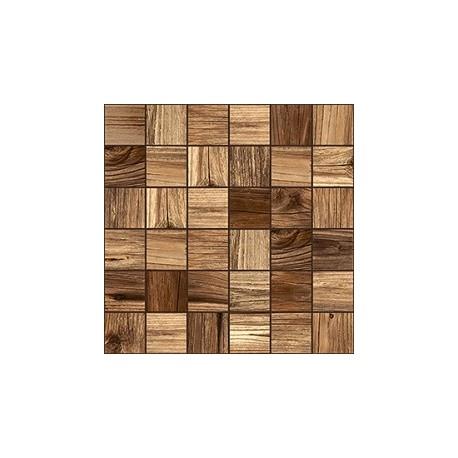 Pine Mozaika Szklana Kwadrat 30x30 kostka 4,8