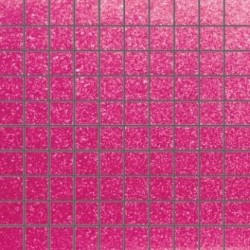 Mozaika szklana Brokat Róż 30x30 2,8cm