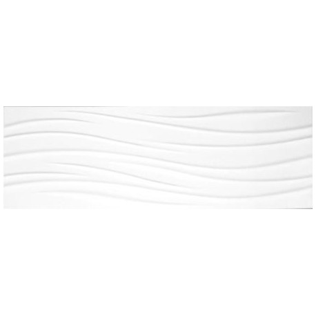 DELUX WAVE BIANCO 30X90