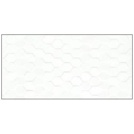 Cleo White Hex 30x60