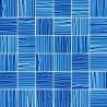 Mozaika szklana Niebieska Paski 30 x 30 kostka 4,8 cm