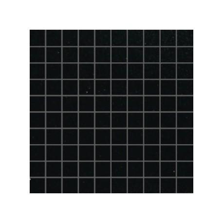 Mozaika szklana Czarny Brokat Złoty 30 x 30 kostka 2,8 cm