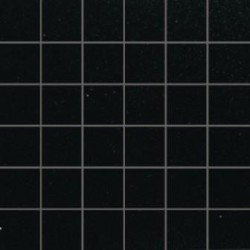 Mozaika szklana Czarny Brokat Złoty 30 x 30 kostka 4,8 cm