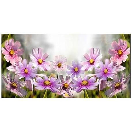 Fiels Flowers Glass Dekor 30x60