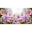 FIELD FLOWERS GLASS DEKOR 30X60