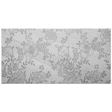Delicate Flower Grey Inserto 30x60