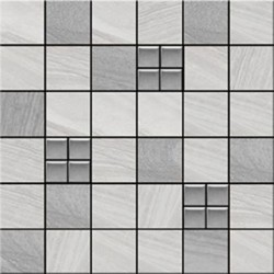 Harmony Grey Mix Mosaic 30x30