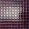 Mozaika szklana Burgund 30 x 30 kostka 2,3 cm