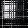 Mozaika szklana Czarna 30 x 30 kostka 2,3 cm