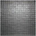 Mozaika szklana srebrna 2 30x30 kostka 1,5 cm