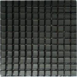 Mozaika szklana Grafit 30x30 kostka 2,3 cm