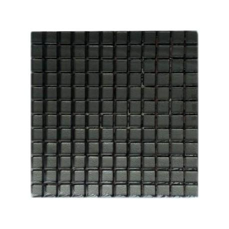 Mozaika szklana Grafit 30 x 30 kostka 2,3 cm