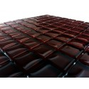 Mozaika szklana czekolada 30x30 Kostka 2,3 cm