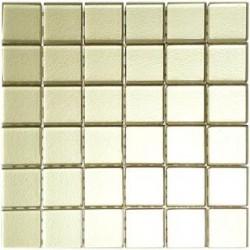 Mozaika szklana Beżowa 2 30x30 kostka 4,8