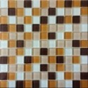 Mozaika szklana mix-beige 30x30