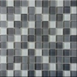 Mozaika szklana mix-grey 30x30