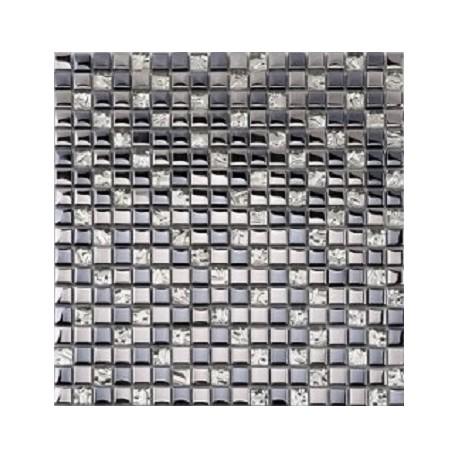 Mozaika MS-102 Srebrna Metalizowana 2 30x30